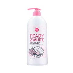 Sữa tắm Cathy Doll Ready 2 White Pearl & Rose Serum Body Bath Cream