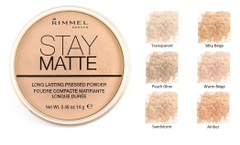 Phấn Phủ Rimmel Stay Matte Pressed Powder