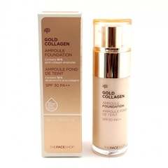 Kem nền Thefaceshop Gold Collagen Ampoule Foundation