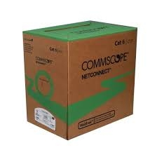 Cáp mạng CommScope CAT6 UTP 4 Pair, 1427254-6