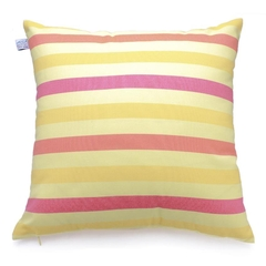 Gối Trang Trí Sofa Soft Decor 40 Yellow Red Stripe