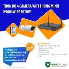 Bộ KIT 4 Camera wifi