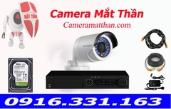 bộ 1 camera hikvision