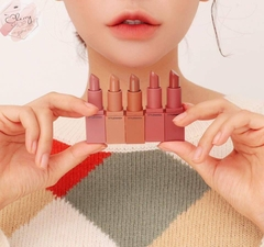 Set Son 3CE MOOD RECIPE MATTE LIP COLOR MINI KIT 2