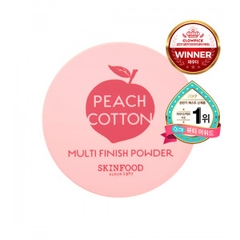 PHẤN PHỦ SKINFOOD PEACH COTTON MULTI FINISH POWDER