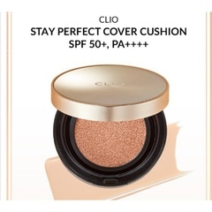 Phấn nước Clio Stay Perfect Cover Cushion SPF 50+/PA++++