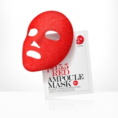 Mặt nạ giấy So'natural PH5.5 Red Ampoule Mask