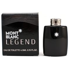 Nước hoa nam Mont Blanc Legend mini 4.5ml