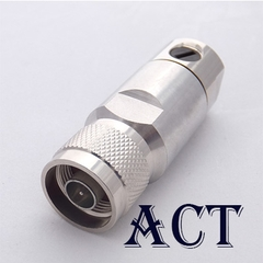 Connector N male for 1/2