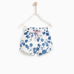 Quần short Zara cotton Mickey size nhí-18397383