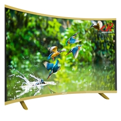 SMART TV ASANZO 50 INCH MÀN HÌNH CONG AS 50CS6000