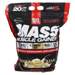 Elite Labs USA Mass Muscle Gainer, 20Lbs (9.07Kg)