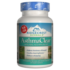 Asthma Clear Homeo and Herbal Asthma Relief. Lọ 60 viên