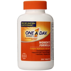 One A Day® Women's Formula. Lọ 200 viên