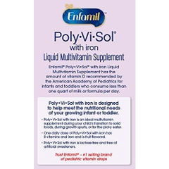 Enfamil® Poly-Vi-Sol® with Iron. Lọ 50ml