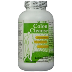 Super Colon Cleanse 500mg. Lọ 240 viên
