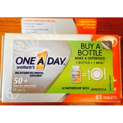 One A Day® Women's 50+ Advantage. Lọ 65 viên