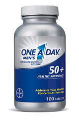 One A Day® Men's 50+ Healthy Advantage. Lọ 100 viên