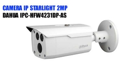 CAMERA IP STARLIGHT 2MP DAHUA IPC-HFW4231DP-AS