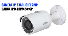 CAMERA IP STARLIGHT 2MP DAHUA IPC-HFW4231SP