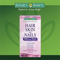 Hair, Skin & Nails Nature's Bounty