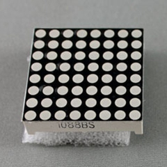 Led Matrix 8x8 3MM 32x32MM 1 màu Anot 1088BS
