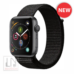 Apple Watch Series 4 - GPS - 44mm Space Gray Aluminum Case with Black Sport Loop