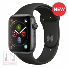 Apple Watch Series 4 - GPS - 44mm Space Gray Aluminum Case with Black Sport Band