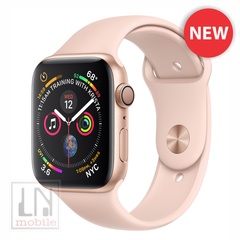 Apple Watch Series 4 - GPS - 44mm Gold Aluminum Case with Pink Sand Sport Band