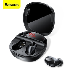 Tai nghe Bluetooth Baseus ENCOK WM01 Plus (Bluetooth 5.0, Stereo Earbuds, Touch Control, Noise Cancelli)