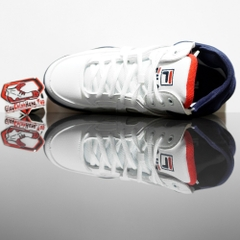 FILA The Cage White/Navy/Red