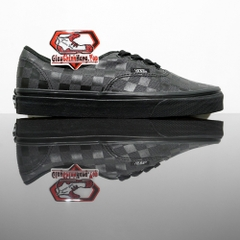 VANS Authentic (High Density) Black Checkerboard