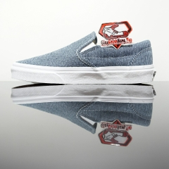 VANS Classic Slip-on (Jersey) Blue/True White