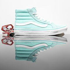 VANS SK8-Hi Slim Aruba Blue/True White
