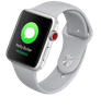 Apple Watch Series 3 Silver Aluminum/White Sport Band 99%