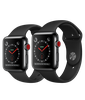 Apple Watch Series 3 Space Black Stainless Steel/Black Sport Band 99%