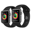Apple Watch Series 3 Space Gray Aluminum/Black Sport Band 99%