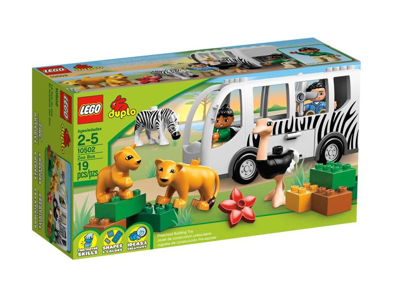 Bộ đồ chơi Lego Duplo 10502 - Xe buýt sở thú