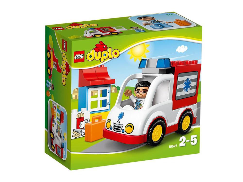 Vỏ ảnh sản phẩm Lego Duplo 10527 - Xe Cứu Thương