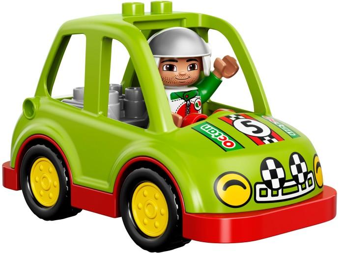 Mô hình Rally và xe của anh ấy