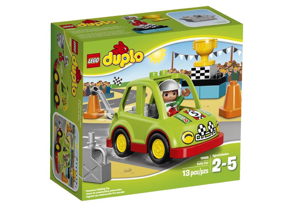 Bộ sản phẩm  Lego Duplo 10589 - Xe đua của Rally