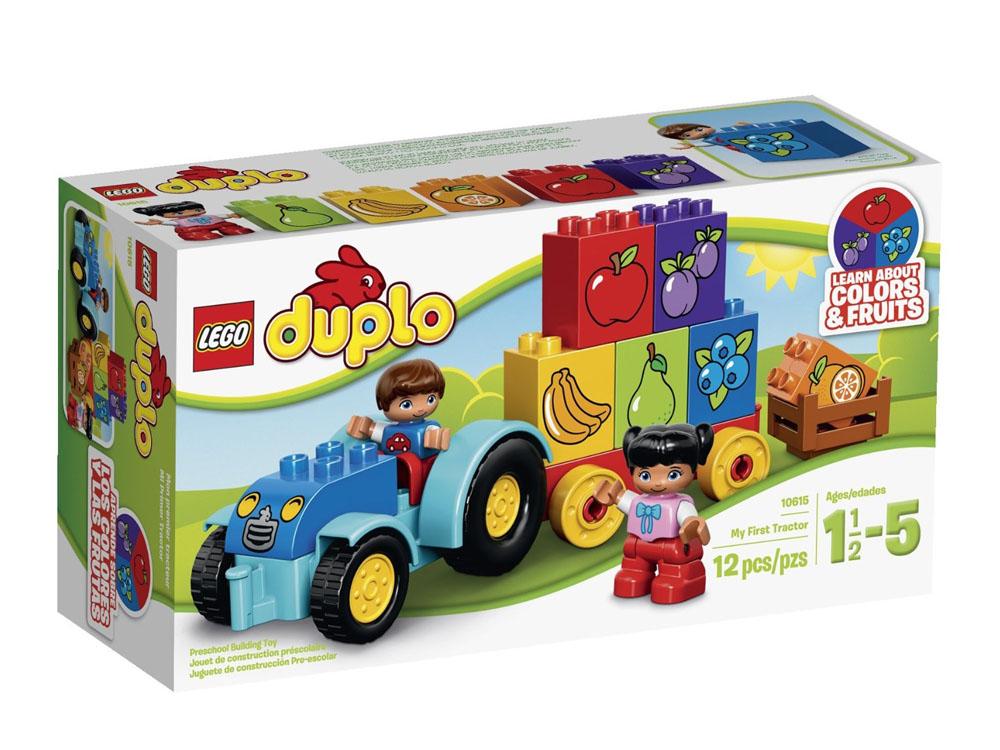 Mô hình Lego Duplo 10615 - Xe kéo đầu tiên