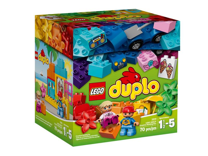 Vỏ hộp bộ Lego Duplo 10618 - Hộp Duplo lắp ráp sáng tạo