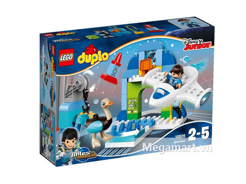 Vỏ hộp sản phẩm Lego Duplo 10826 - Trạm Phi Thuyền Của Mile