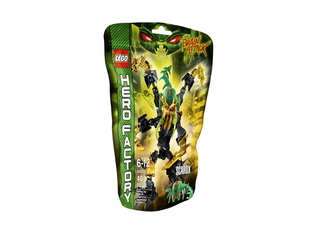Vỏ hộp sản phẩm Lego Hero Factory 44003 - Scarox