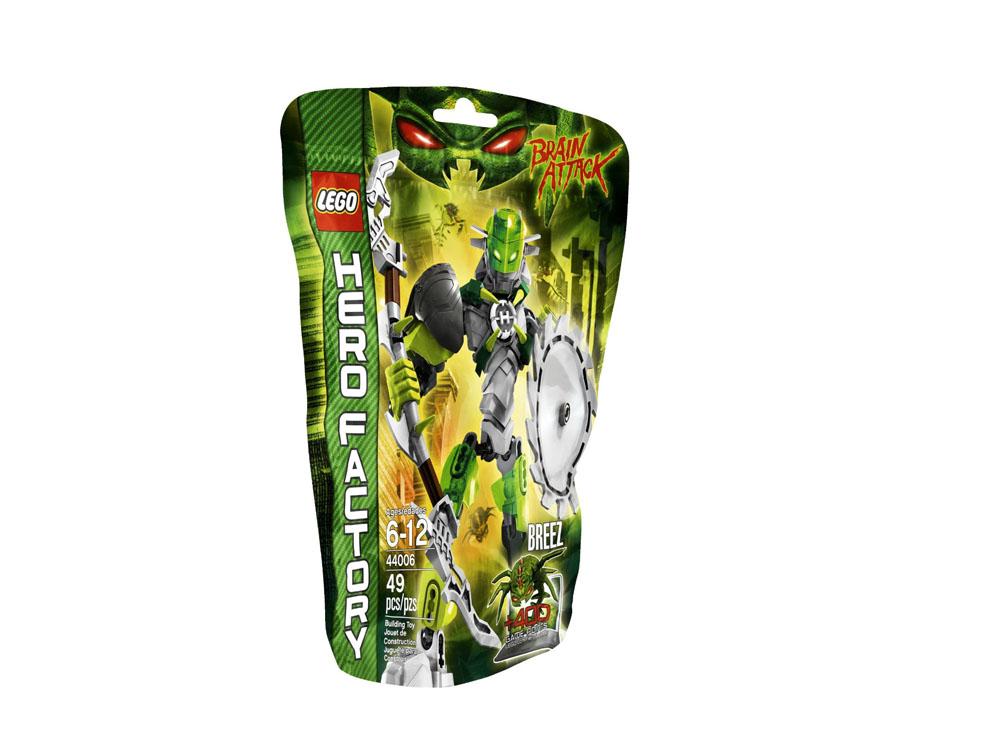 Vỏ hộp sản phẩm Lego Hero Factory 44006 - BREEZ