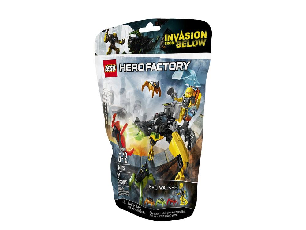 Vỏ hộp sản phẩm Lego Hero Factory 44015 - Cỗ Máy Chiến Đấu EVO