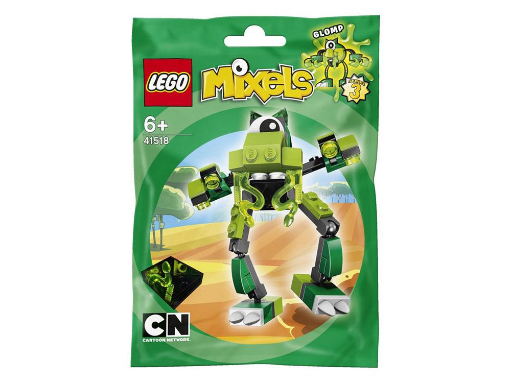 Vỏ hộp sản phẩm Lego Mixels 41518 - Sinh Vật Glomp