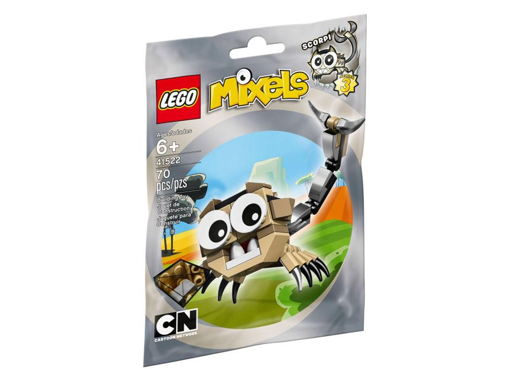 Vỏ sản phẩm Lego Mixels 41522 - Sinh Vật SCORPI