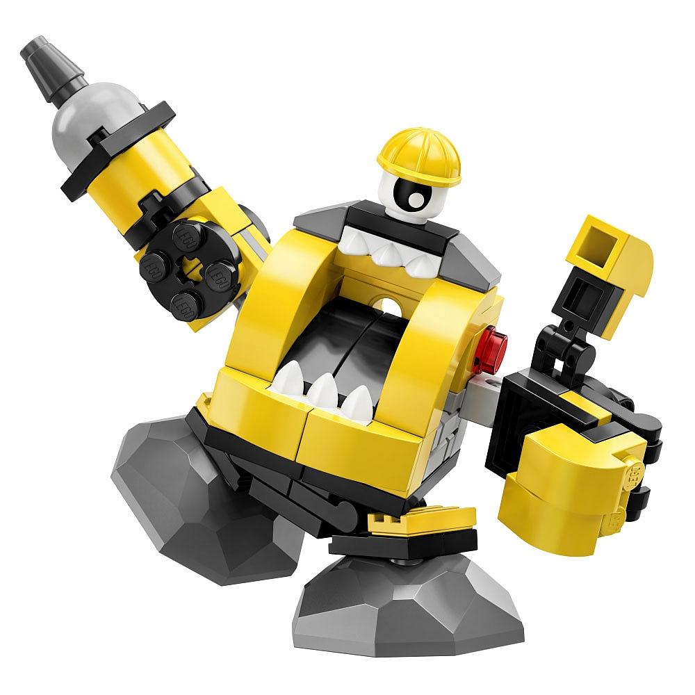 Các chi tiết chính trong bộ xếp hình Lego Mixels 41545 - Sinh Vật Kramm